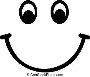 gesicht, smiley