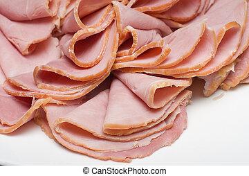 gesneden vlees, rood