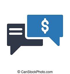 gesprek, dollar