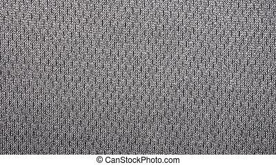gesprenkelt, grau, textiles., hintergrund