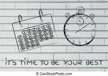 gestion, affaires globales, projet, temps, calendrier