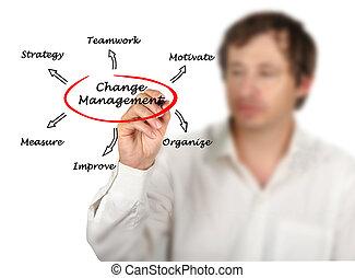 gestion, changement, stratégie