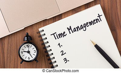 gestion, concept, liste, pointeuse