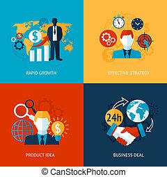 gestion, ensemble, business