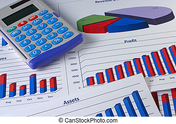gestion, graphique financier, #5