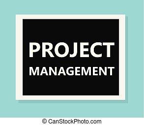gestion projet, concept