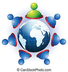 gestion réseau, humain