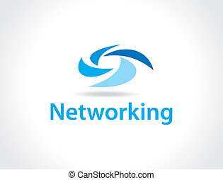 gestion réseau, logo