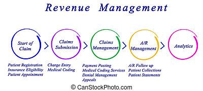 gestion, revenu, processus