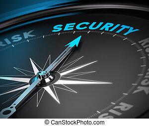 gestion, sécurité, concept