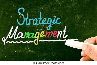gestion, stratégique