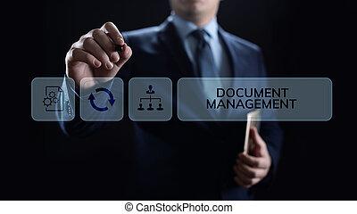 gestion, système, dms, management., numérique, droits, ...