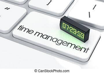 gestione del proprio tempo, concetto