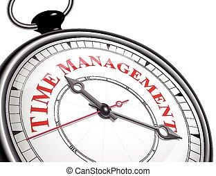 gestione del proprio tempo, concetto, orologio
