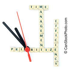 gestione del proprio tempo, puzzle