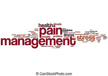 gestione dolore, parola, nuvola