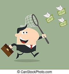 gestionnaire fonds, voler, chasser