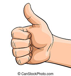 gesto, mão