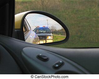 gestopt, politie