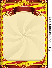gestreepte , circus, poster
