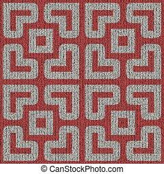 gestrickt, pattern., seamless, texture.