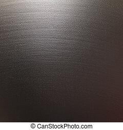 gestructureerd, metaal, aluminium, oppervlakte