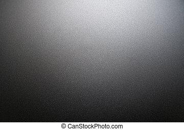 gestructureerd, metaal, zilver, aluminium, oppervlakte