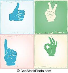 Gestures set