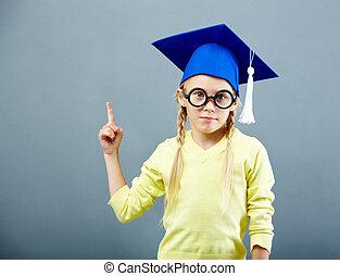Gesturing learner