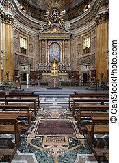 gesu, chiesa, roma, del, -