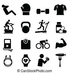 gesunder lebensunterhalt, fitness, diät