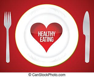 gesundes essen, concep