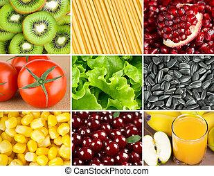 gesundes essen, hintergrund