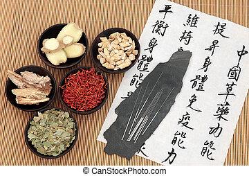 gesundheit, chinesisches , sorgfalt