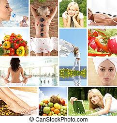 gesundheit, collage