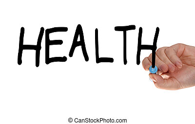 gesundheit, hand, markierung