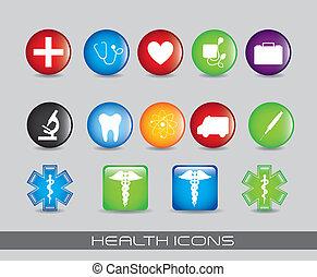gesundheit, heiligenbilder