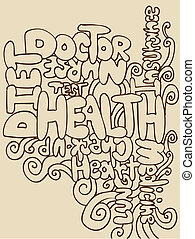 gesundheit, wörter