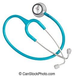 gesundheitspflege, -, stethoskop