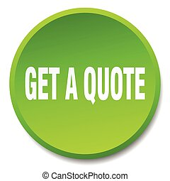 get a quote green round flat isolated push button
