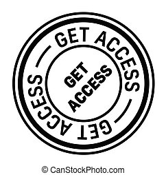 get access rubber stamp