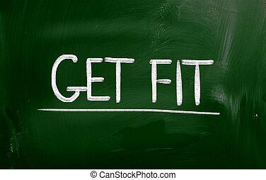 Get Fit Concept