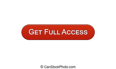 Get full access web interface button wine red color online program, subscription