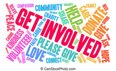 Get Involved Word Cloud Get Involved Word Cloud