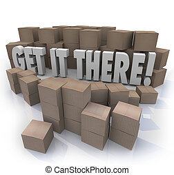 Get It There Shipping Cardboard Boxes Fast Shipment - Get It...
