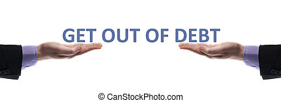 Get out of debt message