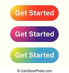 Get started call to action button