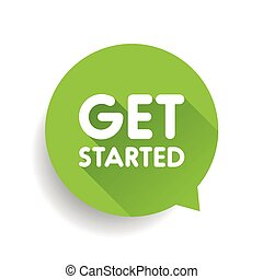 Get started label vector