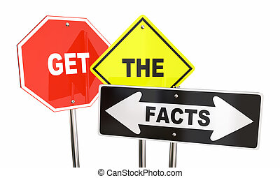 Get the Facts Road Street Signs Direction Research...