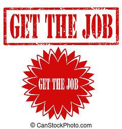 Get The Job-stamp